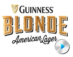 Guinness Blonde with play button