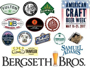 American Craft Beer Week 2017 - Bergseth Brands